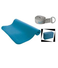 nike essential yoga kit review nike essential kit color shaded blue medium grey buy at best price on snapdeal