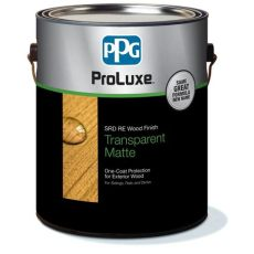 ppg proluxe 1 gal mahogany cetol srd re exterior wood finish sik250 045 01 the home depot - Proluxe Deck Stain