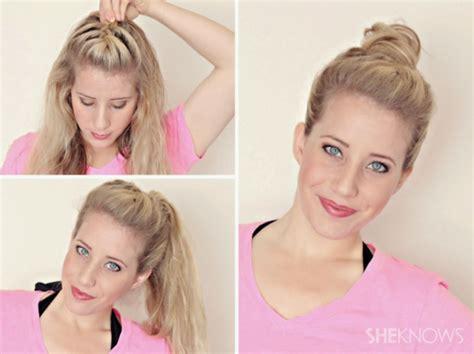 frizūras pamāības hairstyle tutorials kafijas krūze