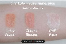 lily lolo doll face blush doll cherry blossom i quot hedonizm i eskapizm quot