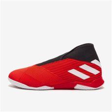 adidas nemeziz 19 3 cordones in rojo blanco rojo solar f 250 tbol sala botas de f 250 tbol - Botas De Futbol Sala Adidas Sin Cordones
