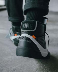 vs real white nike blazer mid grim reaper black guide legit check by ch - Nike Off White Blazer Black Real Vs Fake