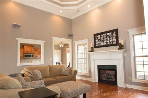family room behr perfect taupe chris