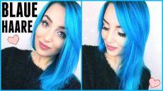 haare blau t 220 rkis f 196 rben blaue haare mit directions turquoise hair t 246 nen louyuna - Blaue Directions Auf Braune Haare
