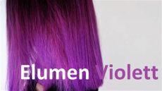 elumen farben mischen elumen haare f 228 rben violett lila haar