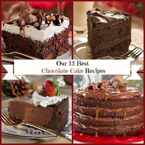 12 chocolate cake recipes mrfood