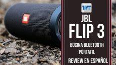 bocinas portatiles jbl bocina jbl flip 3 review en espa 241 ol