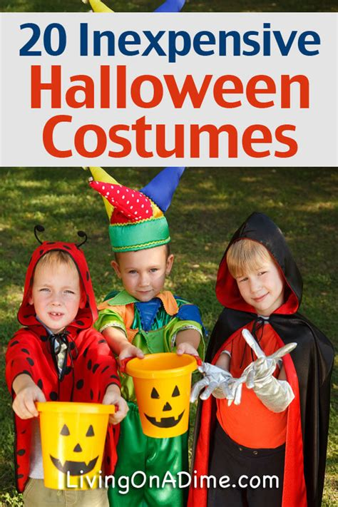 20 inexpensive halloween costume ideas living dime grow