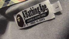 bape shirt tag real vs fake real or bape oxford shirt up