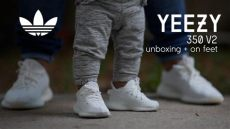 yeezy boost 350 v2 infant cream adidas yeezy boost 350 v2 infant unboxing on