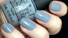 opi blue grey color nail wars opi 50 shades of grey collection swatch review