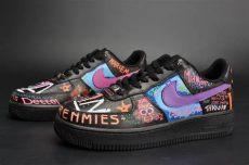 x vlone x nike air 1 a ap bari custom rock black for sale hoop jordans - Vlone X Nike Air Force 1 Custom