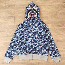 bape hoodie blue camo blue camo bape hoodie ebay