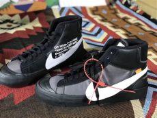 white nike blazer black aa3832 001 release date sneaker bar detroit - Nike Blazer Off White Black
