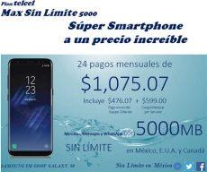 samsung sm g950f galaxy s8 planes telcel - Galaxy S8 Telcel Plan De Renta