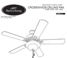 harbour breeze ceiling fan manual harbor ceiling fan manuals harbor outlet
