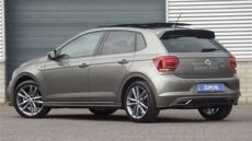 volkswagen new polo r line 2019 limestone grey 17 inch plona walk around detail inside - Limestone Gray Polo