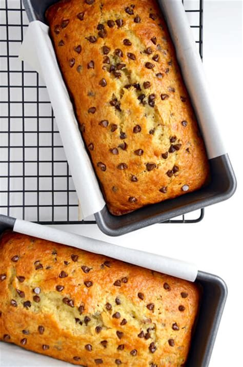 chocolate chip cake mix banana bread taste