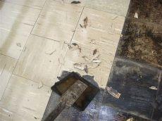 asbestos in flooring asbestos floor tile removal exle of common method of as flickr