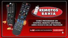 como conectar un control universal a un televisor c 211 mo programar un remoto universal arris dcx3210 cablevision hd en un televisor