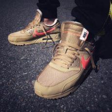 white nike air max 90 desert ore aa7293 200 release date sneakerfiles - Nike Air Max 90 Off White Desert Ore Release Date