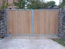 metal framed wooden gates uk richmond 3 bg wooden gates wooden driveway gates