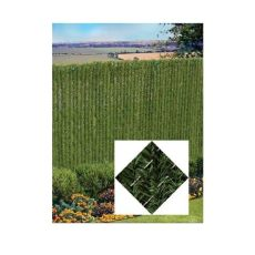 home depot privacy slats pexco 4 ft x 5 ft green privacy hedge r4 the home depot