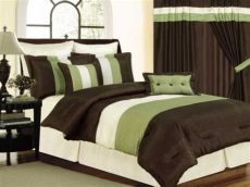 presence green and brown bedding sets atzine - Green And Brown Bedroom Images