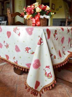 christmas tablecloths uk handmade tablecloth with hearts tablecloths napkins textile furniture