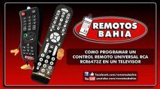 como conectar un control universal a un televisor c 211 mo programar un remoto universal rca rcr6473z rcr6473r