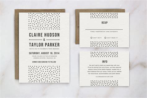 wedding invitation template suite invitation templates creative market