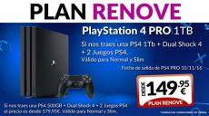 ps4 pro oferta mexico espa 241 a blackfriday on quot plan renove de playstation 4 pro 1tb 161 v 225 lido desde este