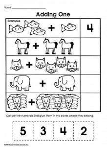 simple addition worksheets kids math kids math problems