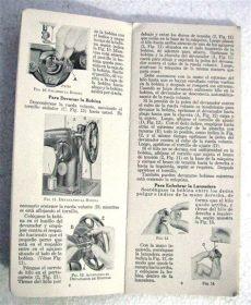 manual de instrucciones de maquina de coser singer facilita 972 antiguo manual maquina coser singer 15 instrucciones uso 590 00 en mercado libre