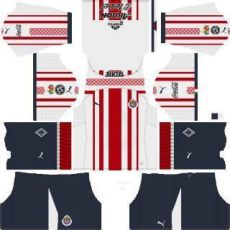 kits chivas guadalajara league soccer 2019 dls mejoress - Dls Chivas Kit 2019