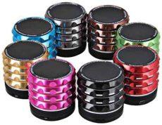 bocina bluetooth multiformatos con microfono integrado - Bocina Con Microfono Integrado