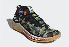 bape x adidas shoes bape x adidas dame 4 release date justfreshkicks