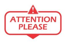 attention please clipart search photos attention