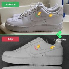supreme air force 1 high real vs fake how to spot nike air 1 sneakers real vs nike af1 legit check by ch