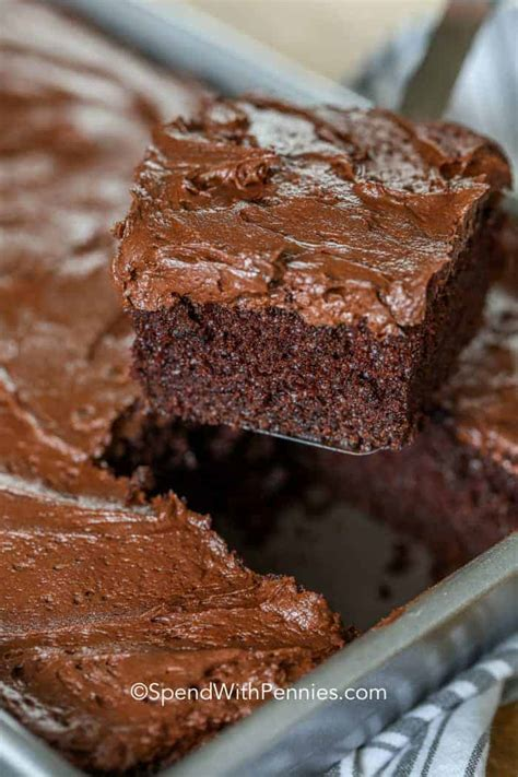 simple chocolate cake rich moist spend pennies