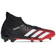 adidas botas predator botas adidas predator 20 3 fg rojas y negras futbolmania