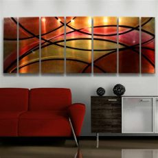 red metal wall art uk modern abstract metal wall decor sculpture painting circuitry ebay