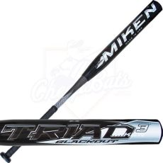 cheap miken softball bats 2015 miken triad 3 blackout senior softball bat ssusa slowpitch model ssbtri