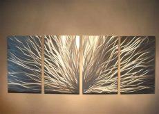 abstract metal wall art uk 15 best modern wall uk
