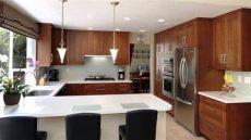 cocina con desayunador - Disenos De Desayunadores De Cocina