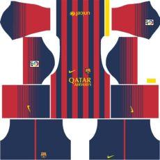 barcelona home kit dls barcelona kits 2013 2014 league soccer