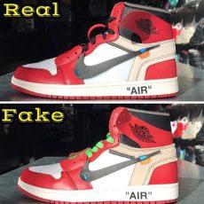 white x 1s real vs limits app medium - Nike Air Jordan 1 X Off White Real Vs Fake