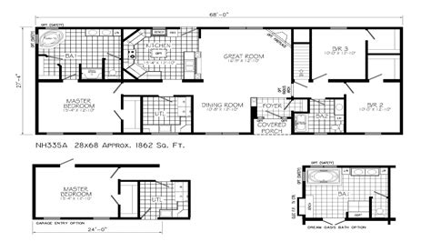 ranch style house plans open floor plan ranch
