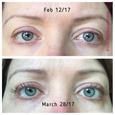 results with monat eye i m not wearing makeup of any sort on either pic i my new - Eye Wonder Monat Before And After