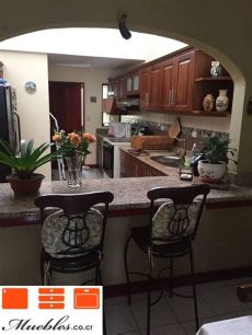 disenos de desayunadores de cocina mueble de cocina con desayunador de granito desayunador cocina cocinas de casa